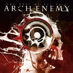 "Arch Enemy - ""The Root Of All Evil"" CD cover image - Click to read review"