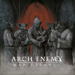 "Arch Enemy - ""War Eternal"" CD cover image"