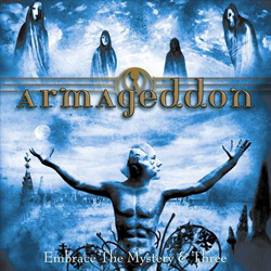 "Armageddon - ""Embrace The Mystery And Three"" CD cover image - Click to read review"