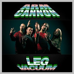 "Armcannon - ""Legvacuum"" CD cover image - Click to read review"