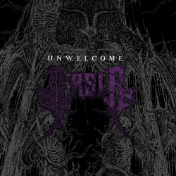 "Arsis - ""Unwelcome"" CD cover image - Click to read review"