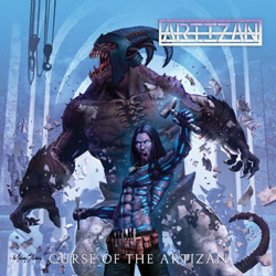 "Artizan - ""Curse Of The Artizan"" CD cover image"