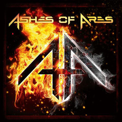 "Ashes of Ares - ""Ashes of Ares"" CD cover image"
