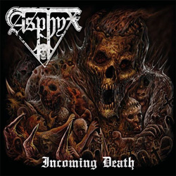 "Asphyx - ""Incoming Death"" CD cover image - Click to read review"