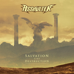 "Assaulter - ""Salvation Like Destruction"" CD cover image"