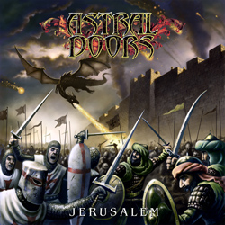 "Astral Doors - ""Jerusalem"" CD cover image"