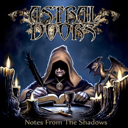 "Astral Doors - ""Notes From The Shadows"" CD cover image - Click to read review"