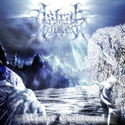 "Astral Winter - ""Winter Enthroned"" CD cover image"