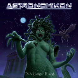 "Astronomikon - ""Dark Gorgon Rising"" CD cover image - Click to read review"