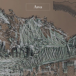 "Asva - ""What You Don't Know Is Frontier"" CD cover image - Click to read review"