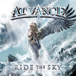 "At Vance - ""Ride the Sky"" CD cover image - Click to read review"