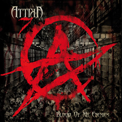 "Attika 7 - ""Blood of My Enemies"" CD cover image - Click to read review"