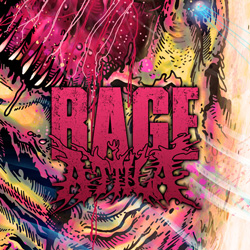 "Attila - ""Rage"" CD cover image - Click to read review"