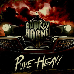 "Audrey Horne - ""Pure Heavy"" CD cover image - Click to read review"