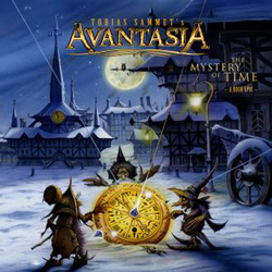 "Avantasia - ""The Mystery of Time"" CD cover image"
