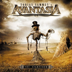 "Avantasia - ""The Scarecrow"" CD cover image - Click to read review"
