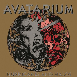 "Avatarium - ""Hurricanes and Halos"" CD cover image - Click to read review"