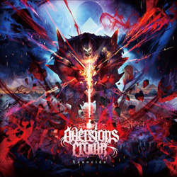 "Aversions Crown - ""Xenocide"" CD cover image - Click to read review"