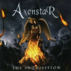 "Axenstar - ""The Inquisition"" CD cover image"