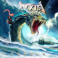"Axxis - ""Utopia"" CD cover image - Click to read review"