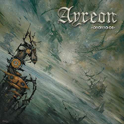 "Ayreon - ""01011001"" CD cover image"