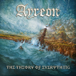 "Ayreon - ""The Theory Of Everything"" CD cover image"