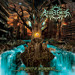 "Azure Emote - ""The Gravity Of Impermanence"" CD cover image - Click to read review"