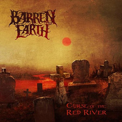 "Barren Earth - ""Curse Of The Red River"" CD cover image - Click to read review"