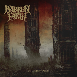 "Barren Earth - ""On Lonely Towers"" CD cover image - Click to read review"
