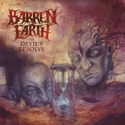 "Barren Earth - ""The Devil's Resolve"" CD cover image"