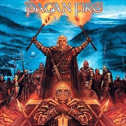 "Unleashed - ""Pagan Fire"" CD cover image - Click to read review"