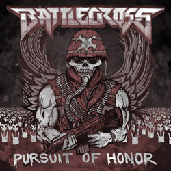 "Battlecross - ""Pursuit of Honor"" CD cover image"