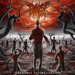"Begging For Incest - ""Orgasmic Selfmutilation"" CD cover image"