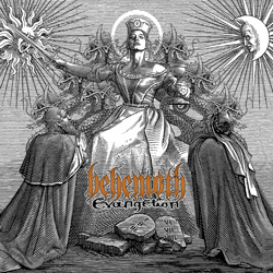 "Behemoth - ""Evangelion"" CD cover image"