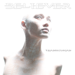 "Believer - ""Transhuman"" CD cover image - Click to read review"