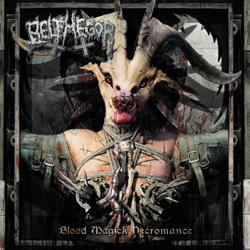 "Belphegor - ""Blood Magick Necromance"" CD cover image"