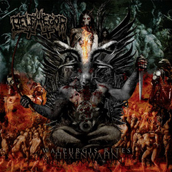 "Belphegor - ""Walpurgis Rites - Hexenwahn"" CD cover image - Click to read review"