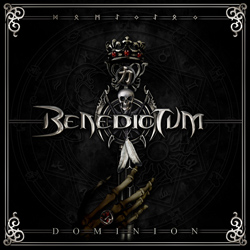 "Benedictum - ""Dominion"" CD cover image - Click to read review"