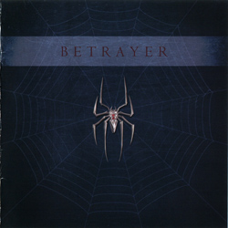 "Betrayer - ""Betrayer"" CD cover image"