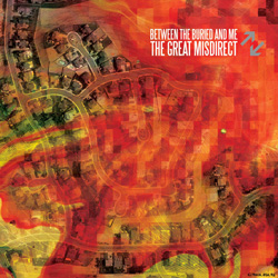 "Between The Buried And Me - ""The Great Misdirect"" CD cover image"