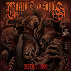"Black Acid Souls - ""Deadly Sins"" CD cover image - Click to read review"