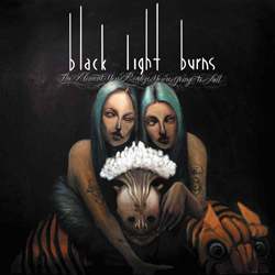 "Black Light Burns - ""The Moment You Realize You're Going To Fall"" CD cover image"