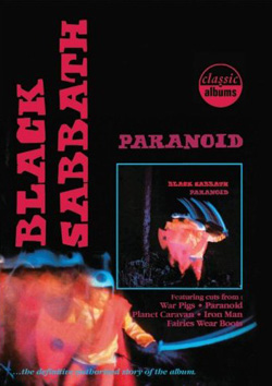 "Black Sabbath - ""Classic Albums: Black Sabbath – Paranoid"" DVD cover image - Click to read review"