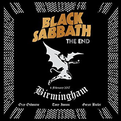 "Black Sabbath - ""The End"" DVD Audio cover image - Click to read review"