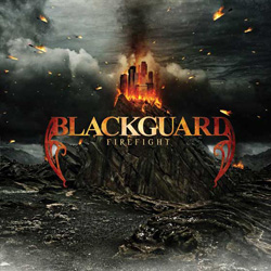 "Blackguard - ""Firefight"" CD cover image - Click to read review"