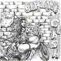 "Blazing Clash - ""Princess Of Rock"" CD/EP cover image"