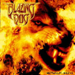 "Blazing Dog - ""Metallic Beast"" CD cover image - Click to read review"