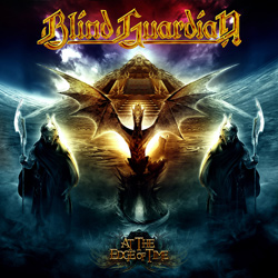 "Blind Guardian - ""At The Edge Of Time"" CD cover image"