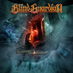 "Blind Guardian - ""Beyond The Red Mirror"" CD cover image - Click to read review"