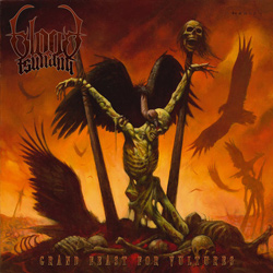 "Blood Tsunami - ""Grand Feast For Vultures"" CD cover image"